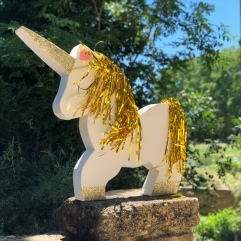 décoration mariage union conte de fées licornes