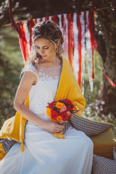 backdrop décor mariage hippie chic rêve dreamcatcher géant -love and do mariage