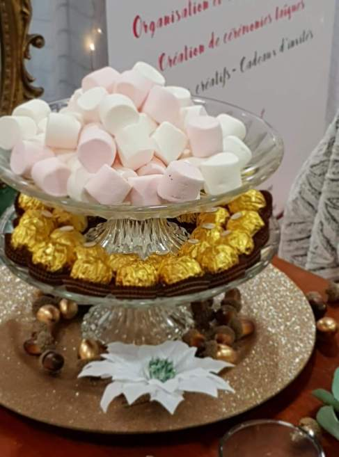 candy bar; ferrero; douceurs sucrées, gourmandises, mariage gourmand, sweet table - love and do mariage
