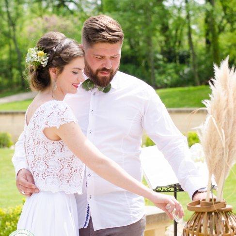 cérémonie laïque, rituel du sable, union, symbolique - love and do mariage