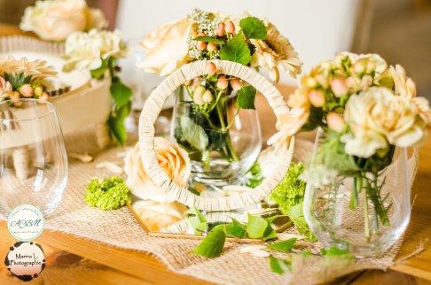fleurs romantique pâle douces - love and do mariage