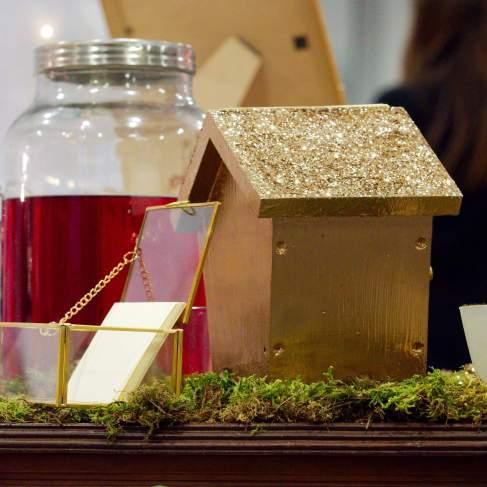limonade rouge, rafraichissement; or et rouge, mariage; decoration vin d'honneur - love and do mariage