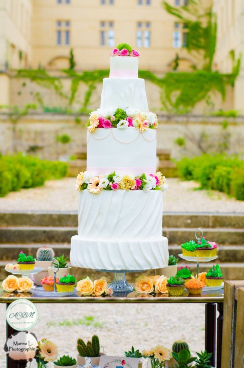 wedding cake pièce montée mariage - love and do mariage